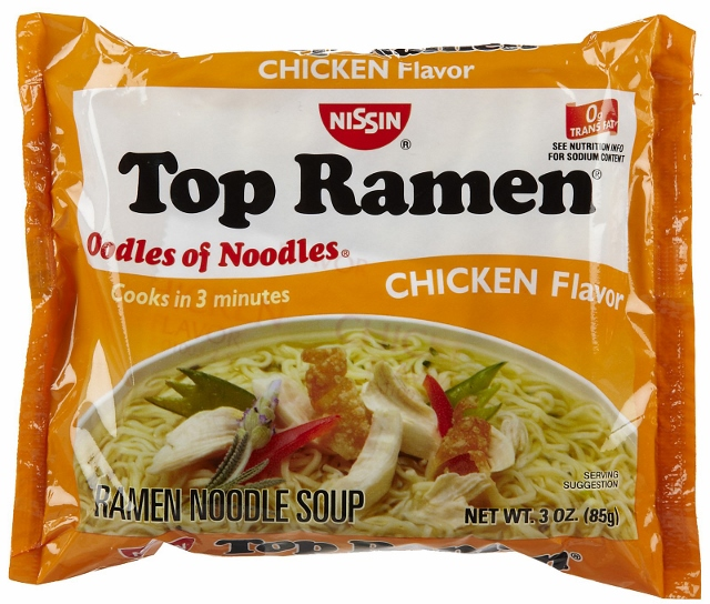 Top Ramen Cup : Tim stuhldreher ramen my cholesterol levels and the