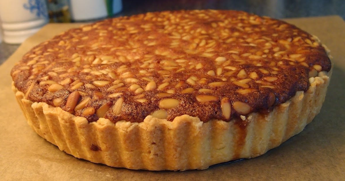 The Caked Crusader: Pine nut and honey tart