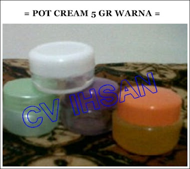 POT CREAM 5 GRAM WARNA