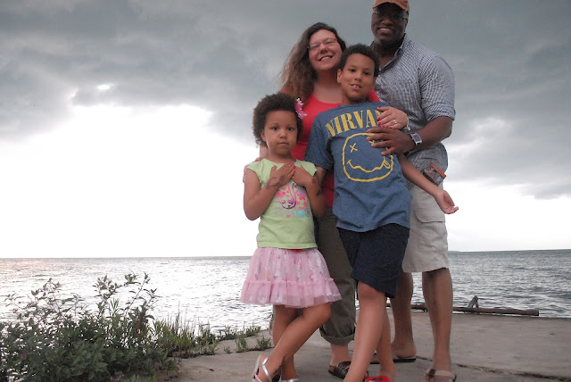 Family photo at Put-in-Bay #CLESummer #LakeErieLove