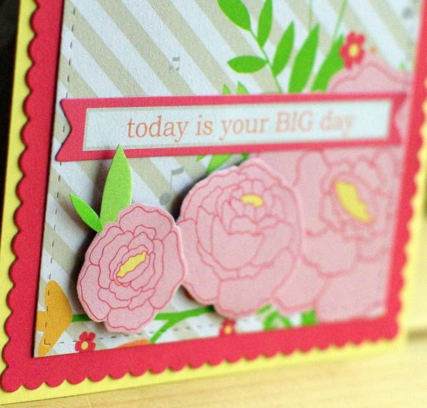 Leigh Penner Chickaniddy Twirly Girly card close-up