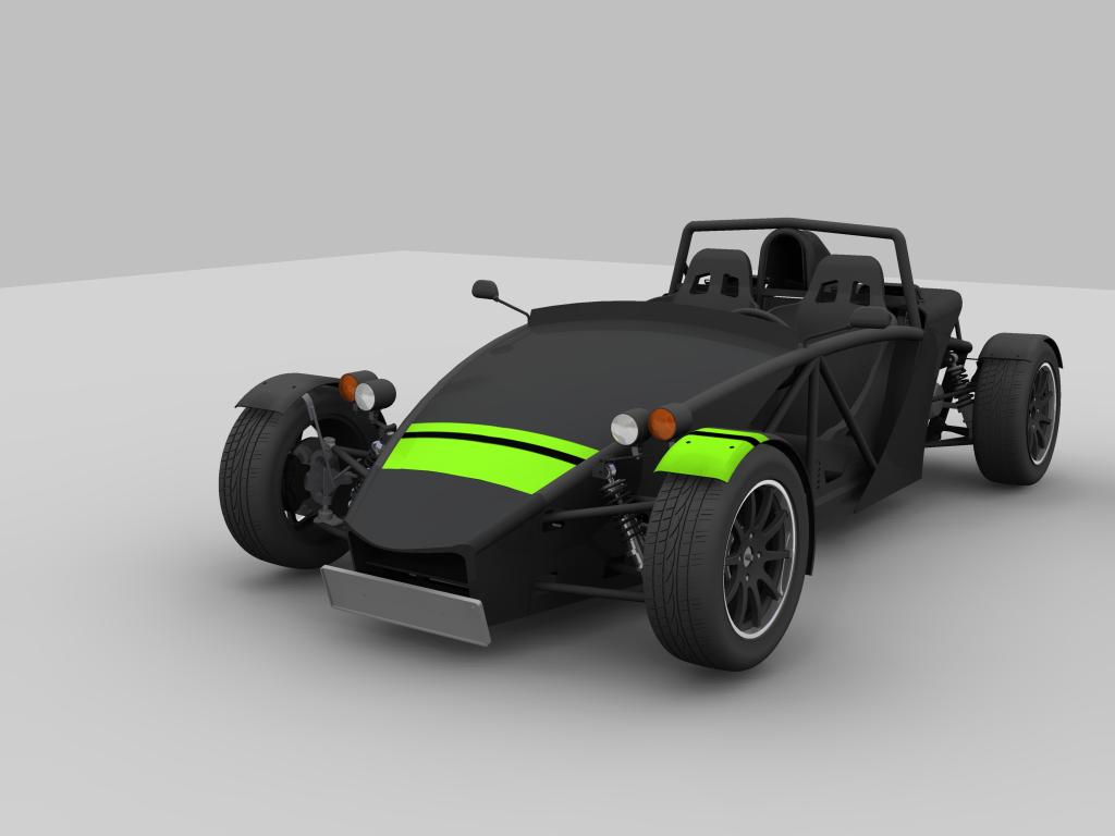 Quot Petrikas Quot Modelling A Kit Car In Autodesk Inventor
