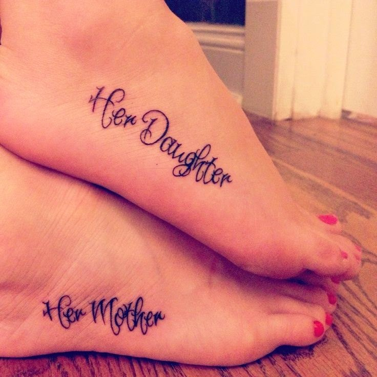 ♥ ♫ ♥ mother daughter tattoos | no idea why this just made me cry, but it's a beautiful reminder of the bond that a mother and daughter have. For when Madisyn is older :) ♥ ♫ ♥