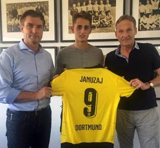 Wah! Adnan Januzaj Reami Bergabung Borusia Dortmund