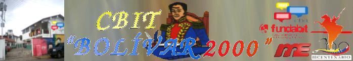 CBIT Bolívar 2000