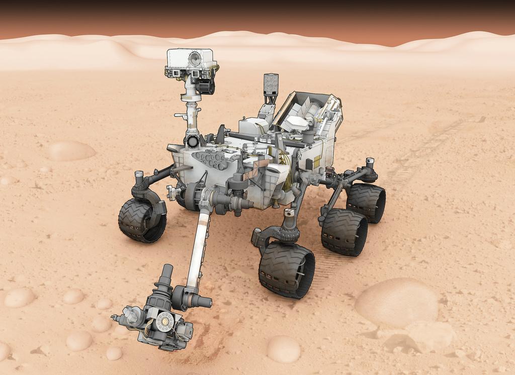 curiosity mars rover clip art - photo #25