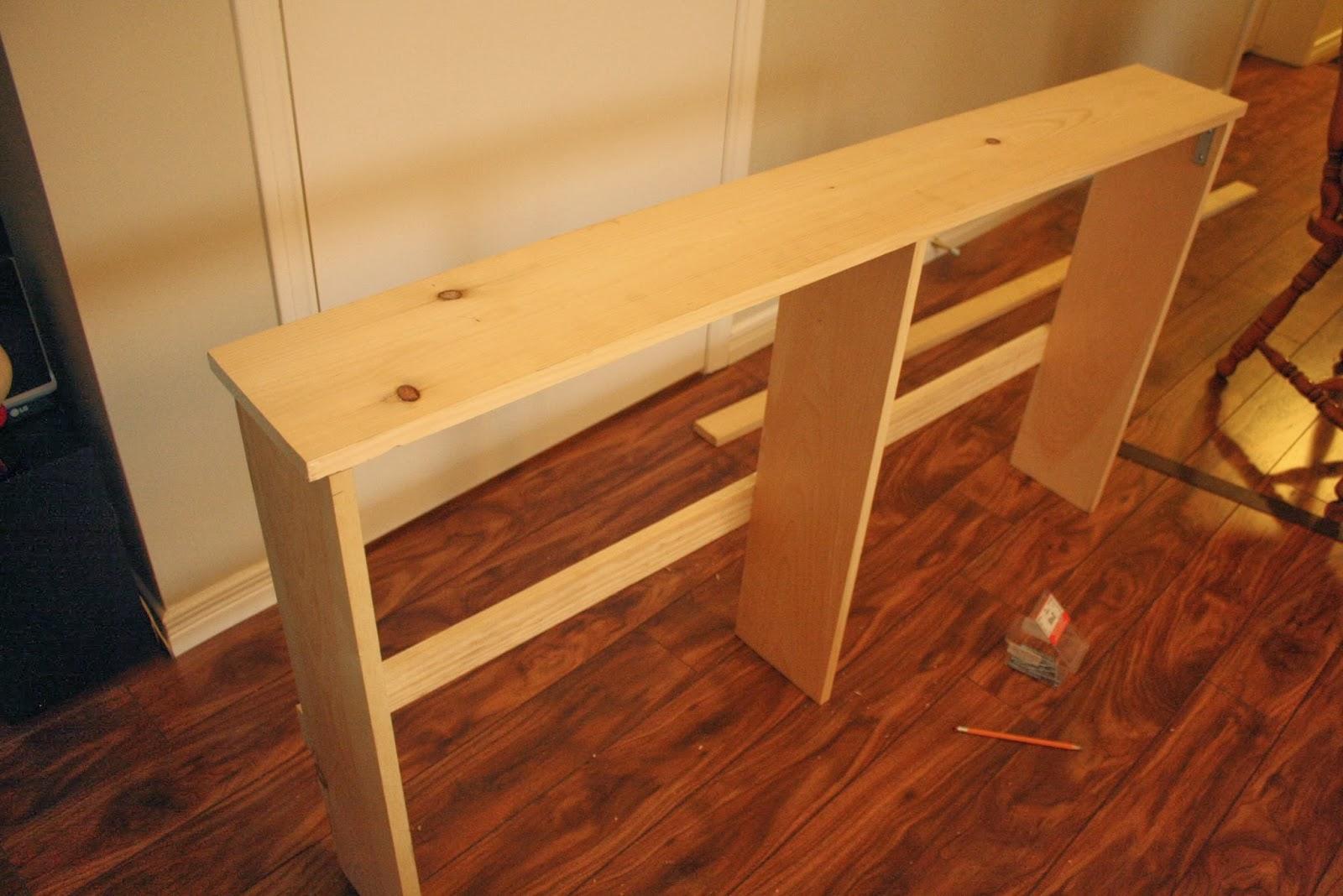 urbane jane simple diy sofa tables. Black Bedroom Furniture Sets. Home Design Ideas