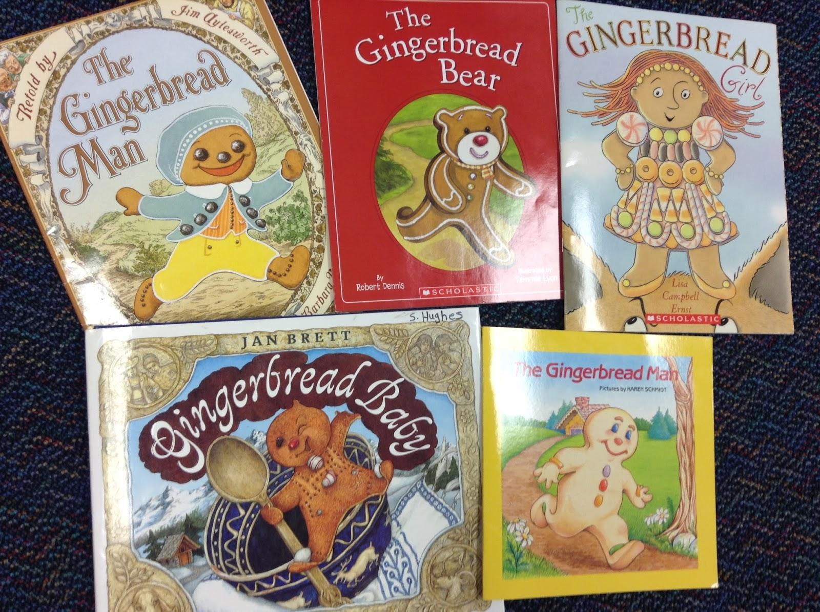 Dr. Clements\' Kindergarten : Gingerbread Man Activities (Kindergarten)