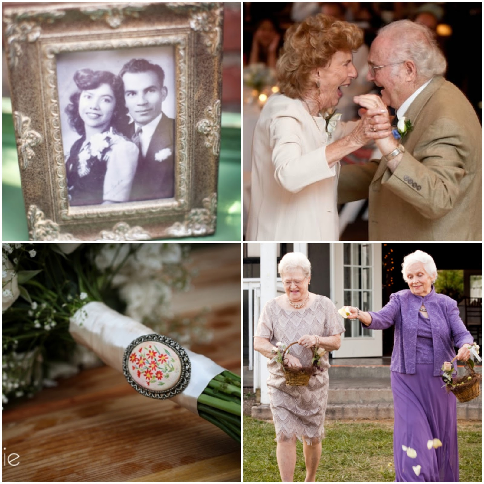 Weddings Are Fun Blog How To Include Your Grandparents In Your Wedding Day