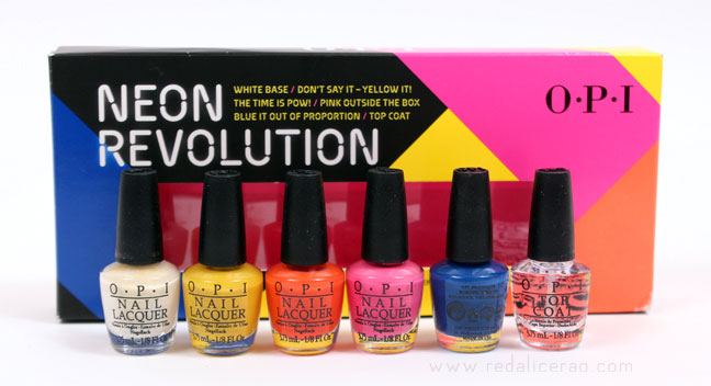 OPI Nail Polish Neon Revolution Set Nails Color