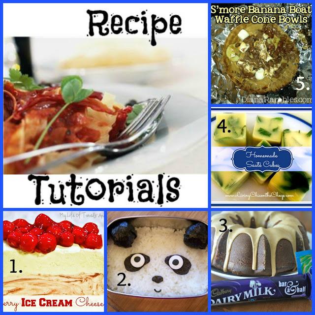 Featured Recipe Tutorials