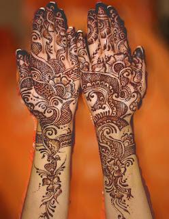 Mehndi Design For Hand Pic