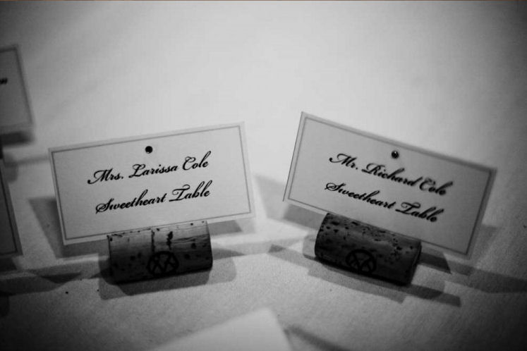 How To Write Escort Cards And Place