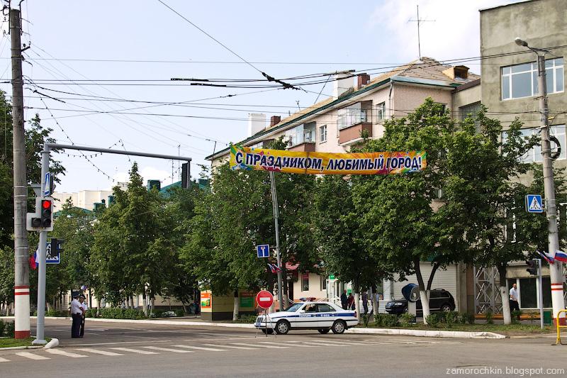 С праздником, любимый город! День города в Саранске.