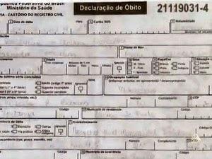 Família diz que Valdelúcio teve morte constatada em atestado de óbito (Foto: Reprodução/TV Bahia