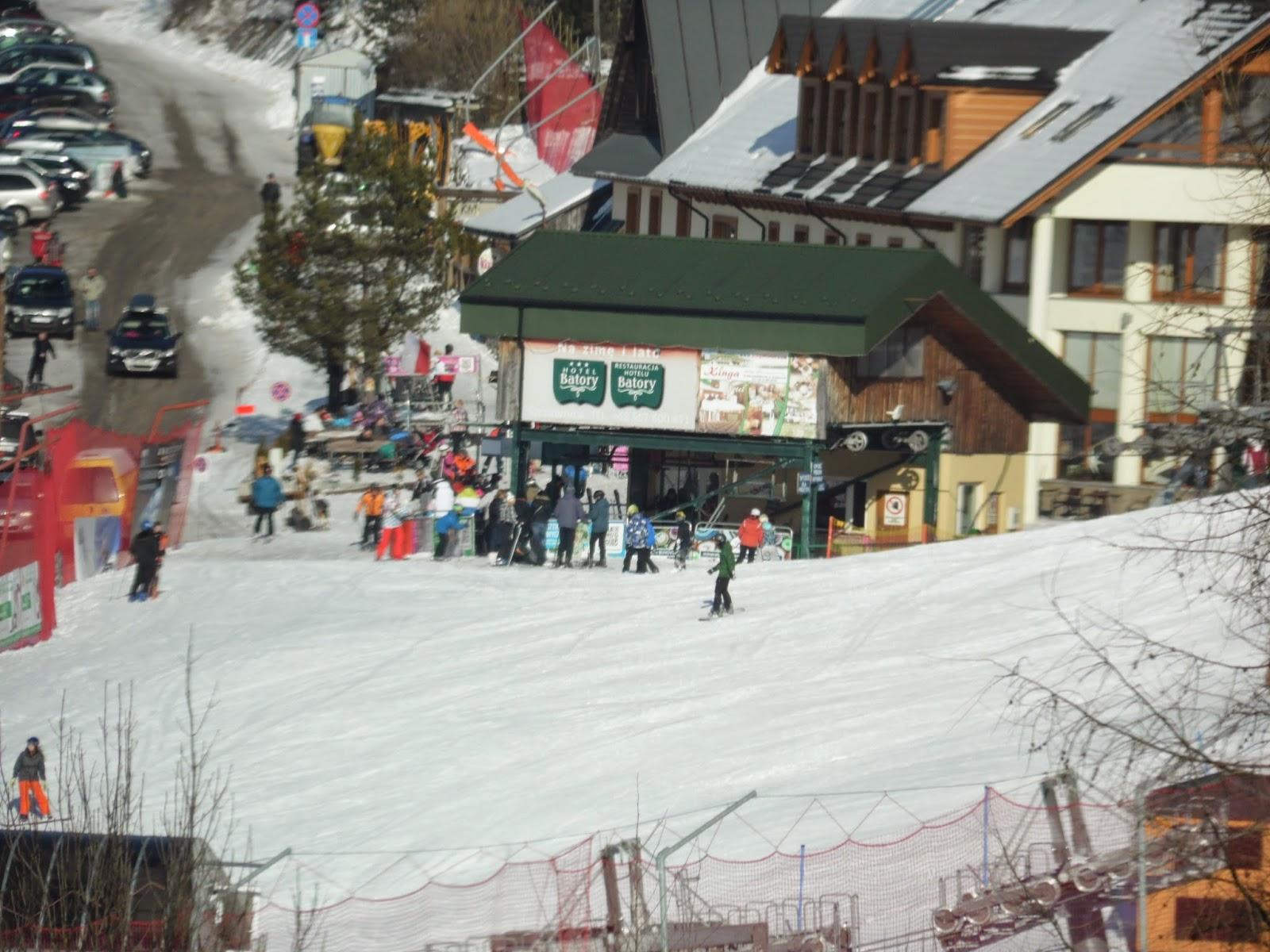 Czorsztyn Ski dolna stacja