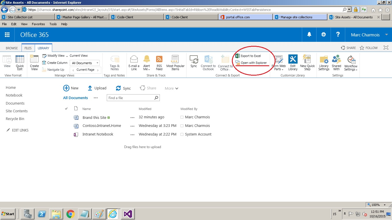 Sharepoint Co Branding A Sharepoint Online Team Site Using The