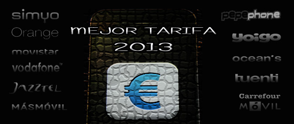 Las Mejores Tarifas Móvil para este año 2013 de menos de 25€