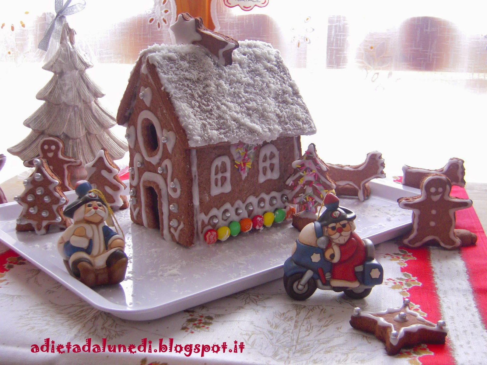 Casetta Di Natale Di Cioccolato : A dieta da lunedì casetta di pan di zenzero gingerbread