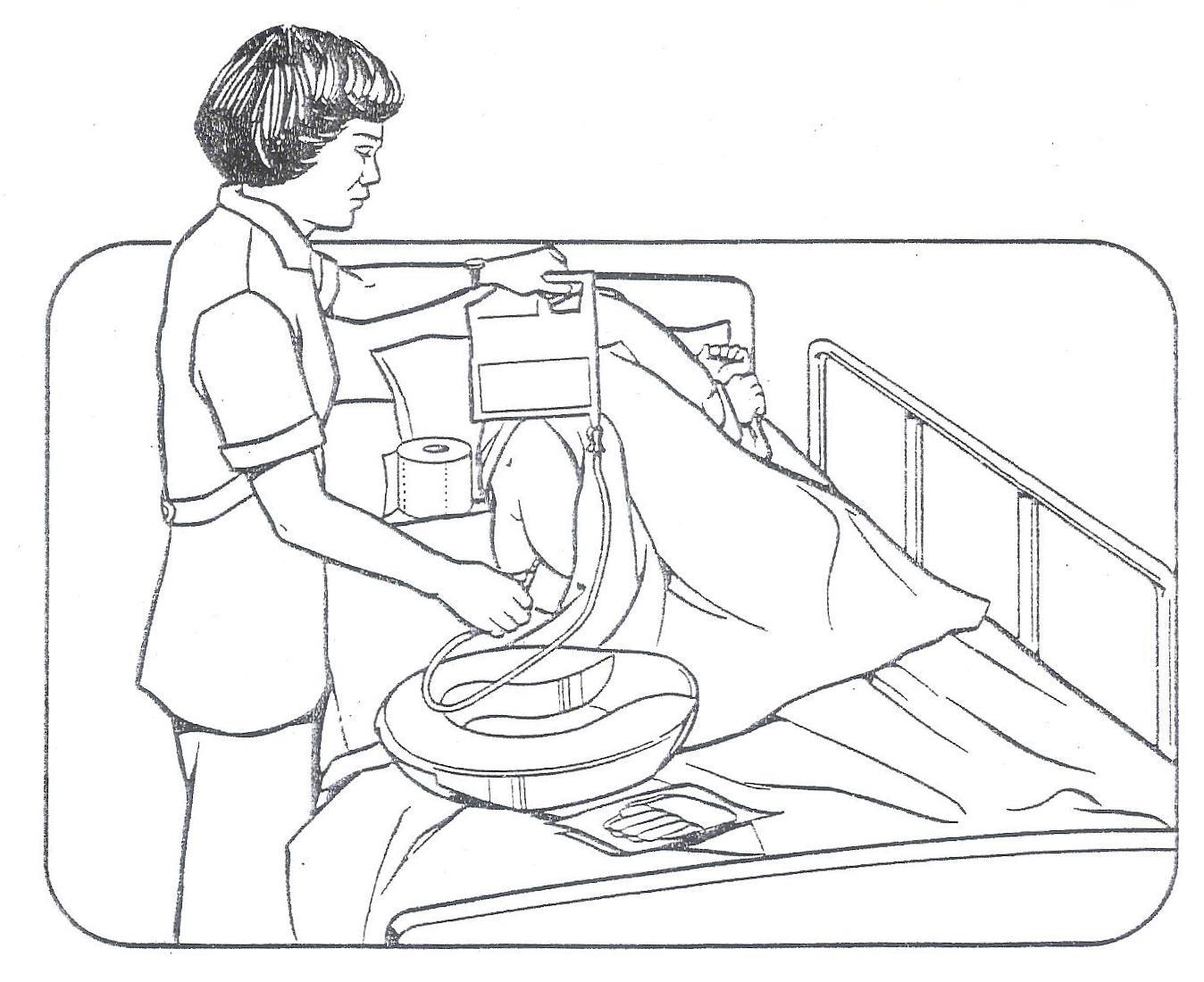 Baño General Del Paciente:CLASES FUNDAMENTOS DE ENFERMERIA: Enema Evacuante