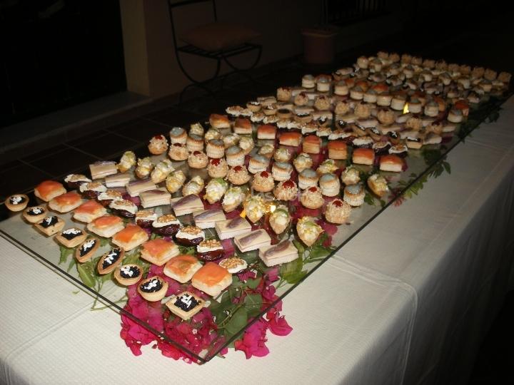 El fais n eventos sociales bocadillos for Canape buffet menus