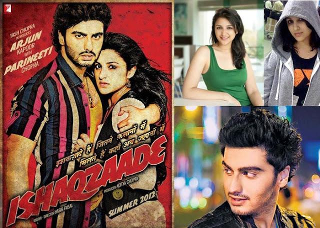 Arjun Kapoor and Parineeti Chopra in 'Ishaqzaade' YRF Next Project