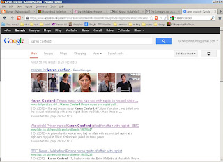 karen cosford google search reults