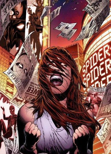 Spider-Girl (Marvel Comics) Character Review - Cry and Angry