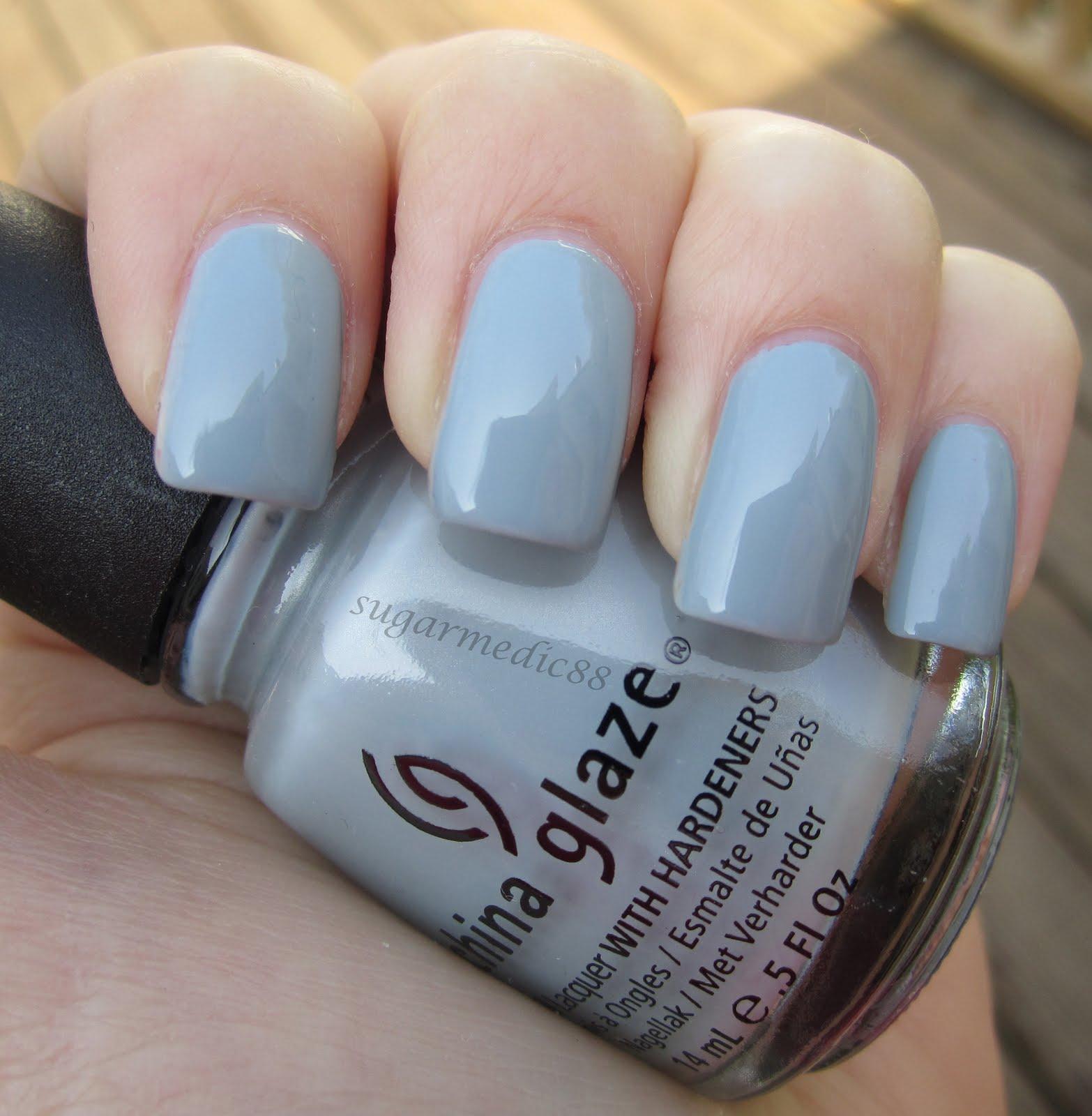 Spray on nail polish china glaze nail spray reviews - China Glaze Sea Spray Swatch