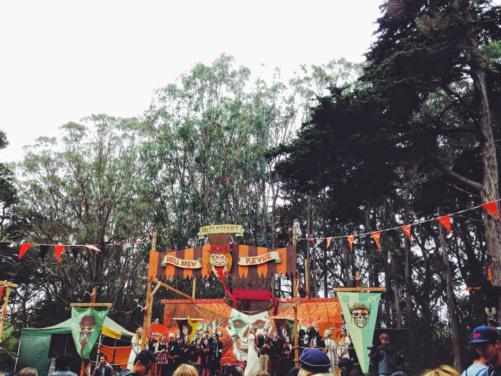 Dr. Flostam's Hell Brew Outside Lands 2014