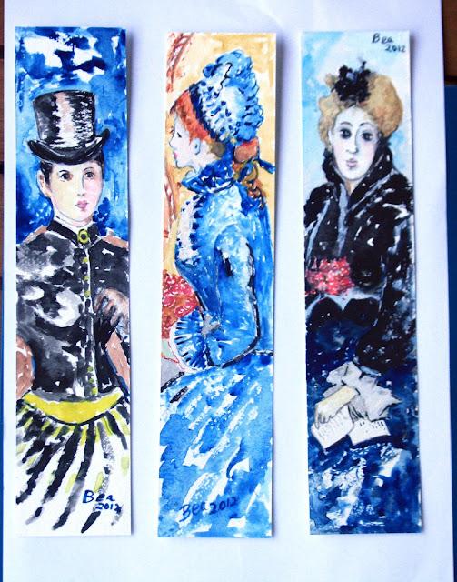 Marcadores de Livros  110_Colecção Impressionismo