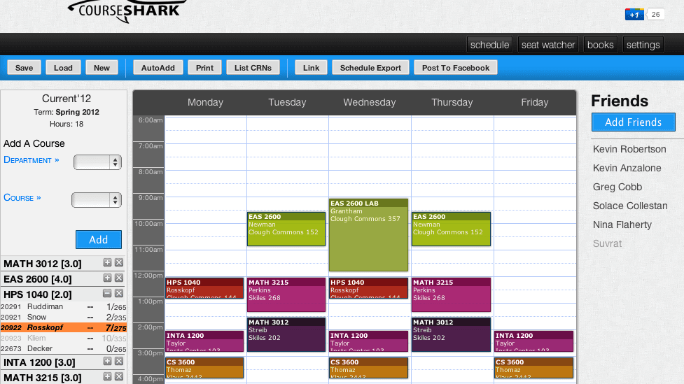 block scheduling college course schedule maker college