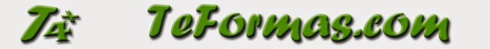 TeFormas.com: Tutoriales, ejercicios y ejemplos prácticos de Excel, Access, Word, PowerPoint,...