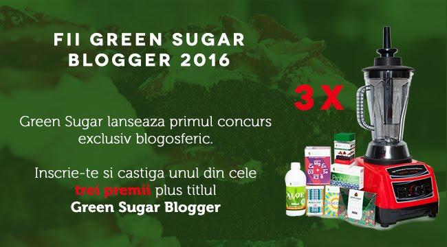 Blog participant la Campania anuala Green Sugar!