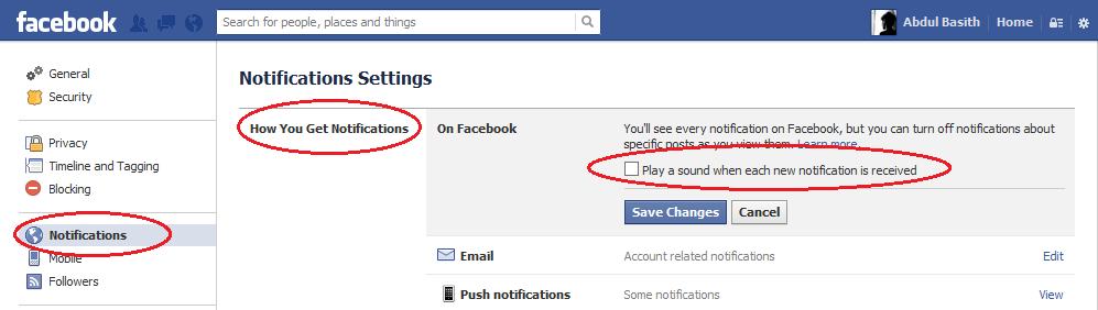 How To Turn Off Facebook Notification Sounds Useful Stuff  Apps