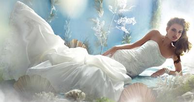 Sirenetta sposa