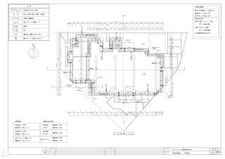 仮設計画図 平面図