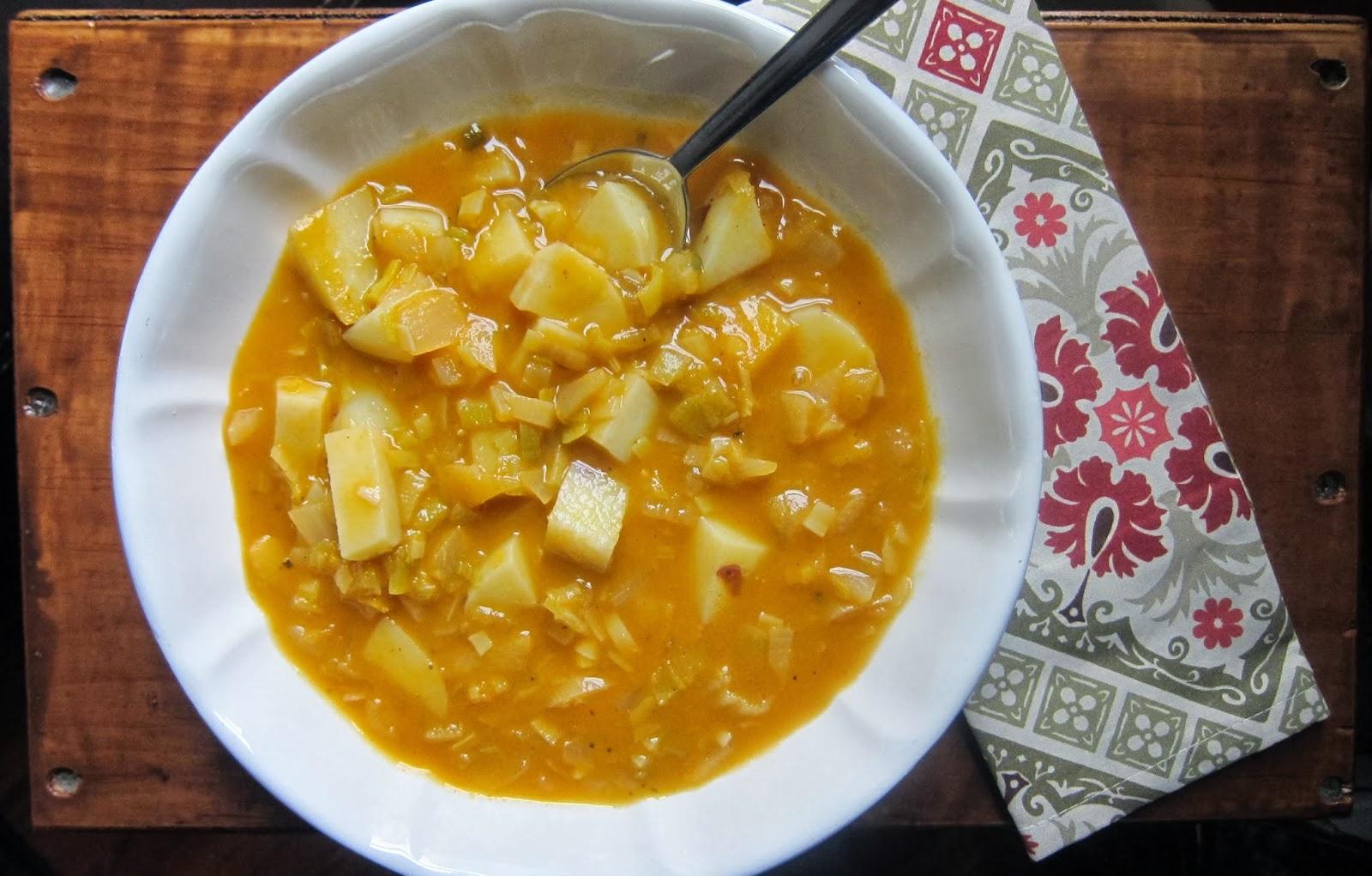 Hearty Potato-Leek Soup   The Economical Eater