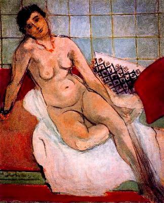 Henri Matisse - Le grand nu gris,1929.