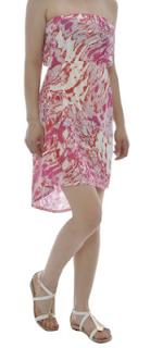 rochie cu imprimeu artistic