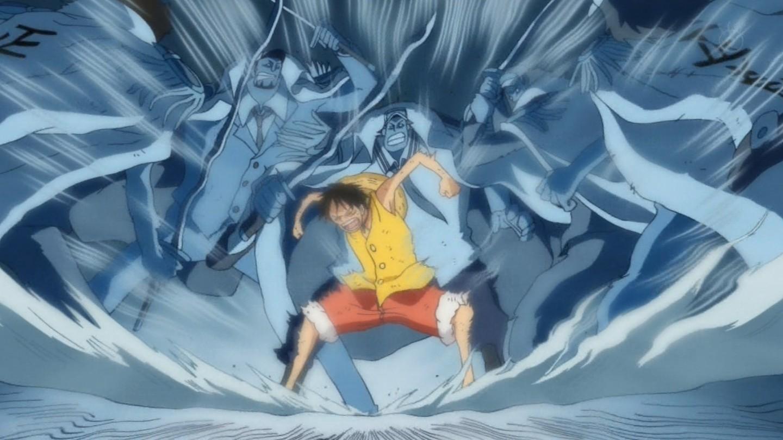 Haoshoku Haki Monkey D Luffy Luffy 2 Years Later Haki