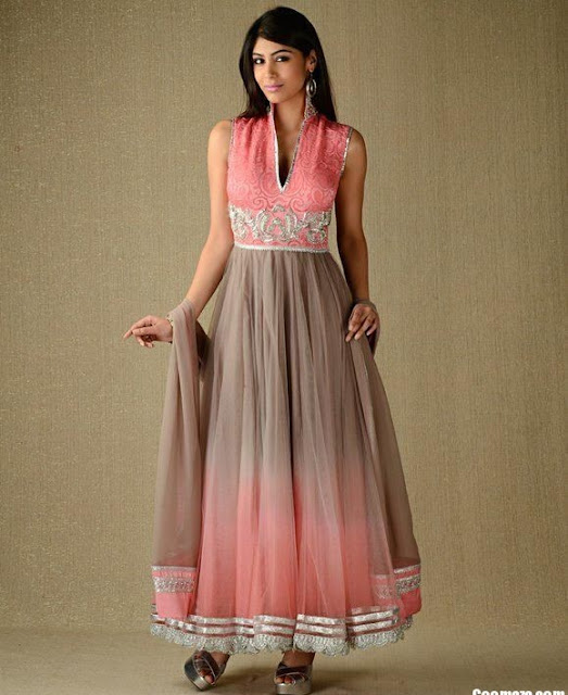 Party-Wear-Anarkali-Frock-Churidar