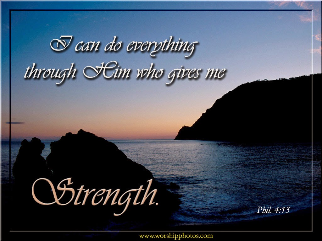 I Can Do All Things Through Christ Who Strengthens Me How Encouraging So Whenever You Feel Tired From Work Or Problems Remember Philippians 413