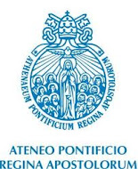 ATENEO PONTIFICIO REGINA APOSTOLORUM