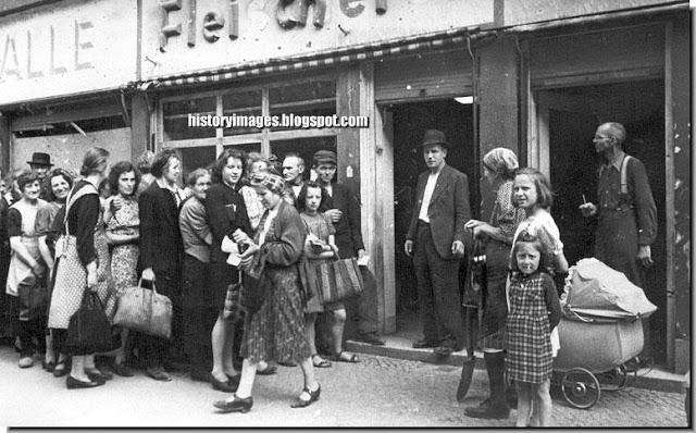 german women girls starving 1945