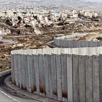 Muro do Apartheid e da Vergonha construido por Israel