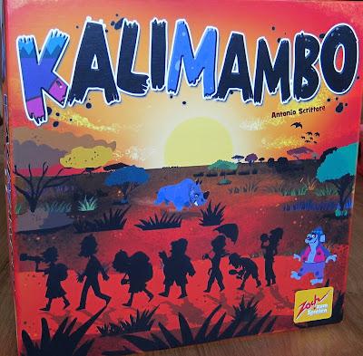 Kalimambo - The box artwork