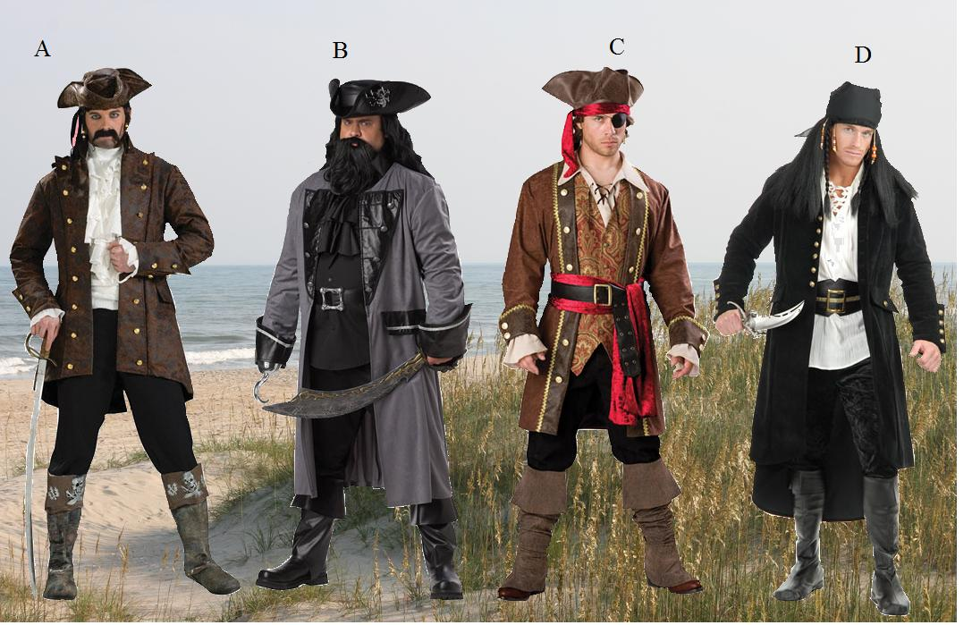 Real pirate clothes