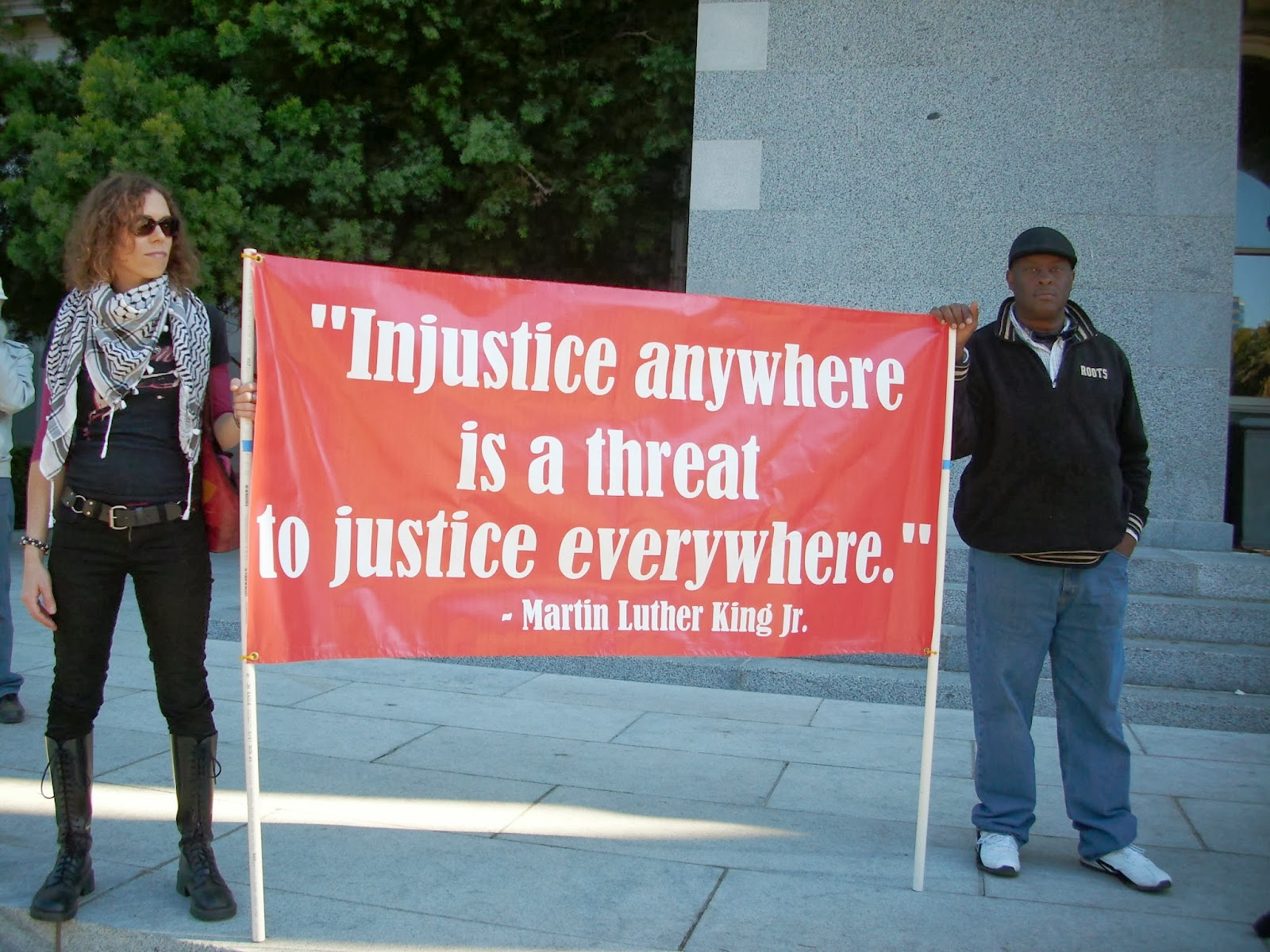 injustice anywhere is a threat to justice everywhere essay essay  dangerous compassions today we ed from crocker park to the capitol it was fun here are