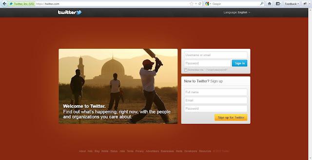 Cara Membuat id / akun Twitter